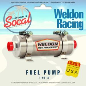 Weldon Racing High Performance Fuel Pump 1100 A Up Good Up To 1400 Hp