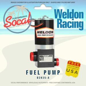 Weldon Racing High Performance Fuel Pump D2035 a Up 1400 Hp To 2400hp Plus