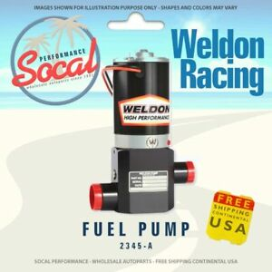 Weldon Racing High Performance Fuel Pump 2345 A Up 1400 Hp To 2400hp Plus