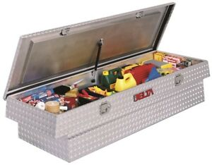 Delta Tool Boxes Full Size Single Lid Aluminum Toolbox Full Size Or Compact Tru
