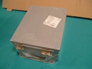 Hoffman Engineering Enclosure Electrical Box A 1008lp New 4 X 8 X 10