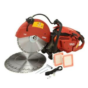 Portable Hand Held Gas Powered Professional Concrete Masonry Contractor Saw