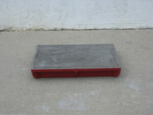 Machinist Cast Iron Surface Plate 1 2 Thick Top 12 x16 40lbs
