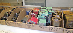 Large Lot Bearings Misc Sizes Brands