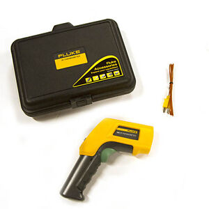 Fluke 566 Infrared And Contact Thermometer 40f To 1472f