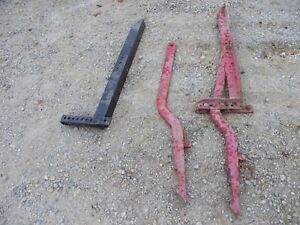 Farmall Tractor 3pt To 2pt Mower Conversion Kit Arms And Brackets Hard To Find