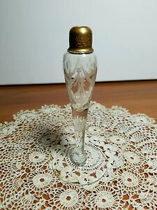 Vintage Devilbiss 1920 S Cut Glass Perfume Bottle Without Dauber