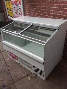 Hussmann 4 Ft Ice Cream Freezer Under Counter Hussmann Working Clean