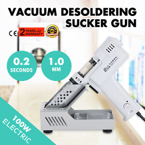 Electric Vacuum Desoldering Pump Sucker Gun Modern Techniques Widely Trusted
