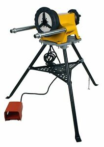 Pipe Threader 300 Power Drive 1206 Stand Handy Foot Pedal 1 2 2 Inch Pipe