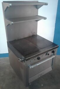 Garland Heavy Duty Commercial Natural Gas Griddle Top Oven M46r