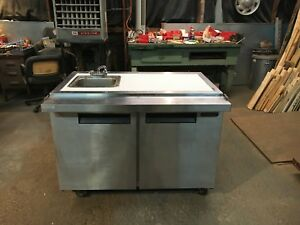 Prepper Stainless Steel Sink Cabinet Lite Faraday Cage On Wheels