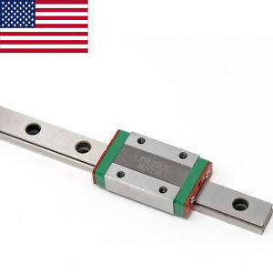 Zyltech Mgn12 Linear Rail With Single Carriage Bearing Block 300 400 500 Mm
