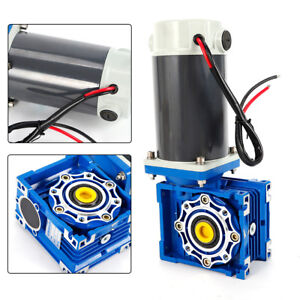 Dc 12v Two speed Gear Motor Adjustable Speed Support Self locking 90w 5a Us