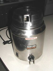 6 Qt Stainless Steel Soup Kettle Warmer Commercial Nacho Cheese Fits A 10 Can