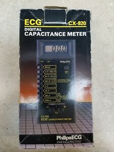 Ecg Cx 920 Capacitance Meter read The Description