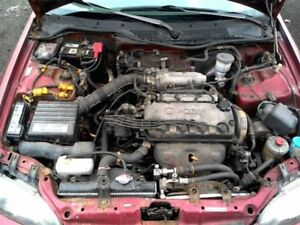 Motor Engine Coupe 1 6l Vin 1 6th Digit Si Canada Market Fits 92 95 Civic 252059