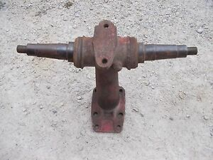 Farmall Super M Mta Tractor Front Pedestal Spindle Shafts For Hubs To Tractor