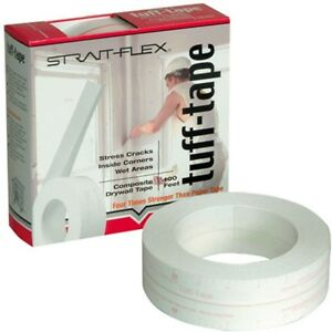Strait flex Drywall Joint Tape 2 In X 100 Ft Blister Resistant Composite Black