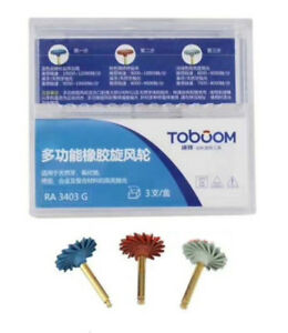 Dental Polishing Kit Rubber Polisher For Porcelain And Composite Materials