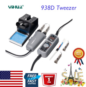 Yihua 938d Portable Hot Tweezers Mini Soldering Station For Bga Smd Repairing