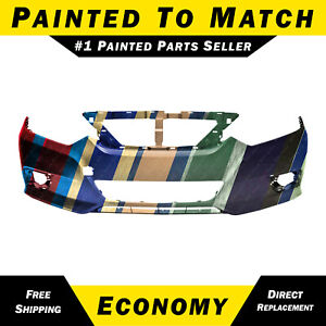 New Painted To Match Front Bumper Cover Fascia For 2016 2018 Nissan Altima 16 18