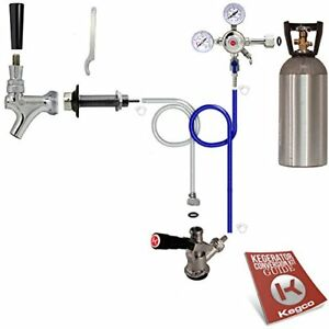 Kegco Standard Door Mount Kegerator Conversion Kit With 10 Lb Co2 Tank