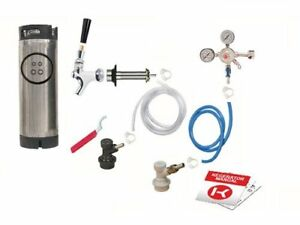 Kegco Ebshckballkeg One Keg Door Mount Homebrew Kegerator Conversion Kit Ball