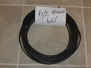6 2 W ground Romex Indoor Electrical Wire 60 all Lengths Available