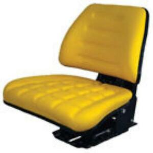 John Deere Small Tractor Yellow Seat Assembly
