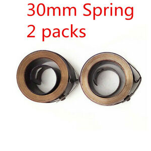 2x Milling Clock Return The Mill Spring 30mm Width For Bridgeport Part Assembly