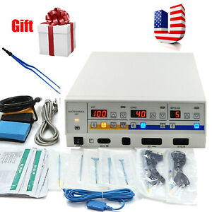 S High Frequency Electrocautery Electrosurgical Unit Electrotome Cautery Machine