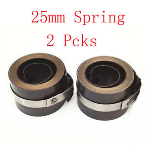 2x Milling Clock Return The Mill Spring 25mm Width For Import Bridgeport Part
