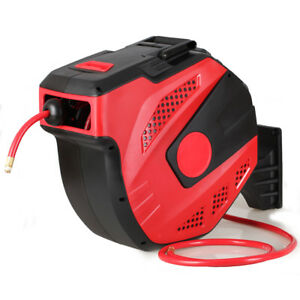 30m Plastic Air Hose Reel Automatic Recovery Rolling Machine Plastic Hose Reel