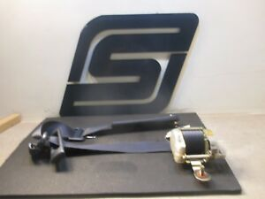 1990 Toyota Supra 7m ge Oem Factory Right Passenger Front Seat Belt blue fj82