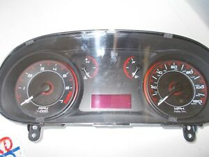2013 Dodge Dart Sxt 05091892ae Speedometer Instrument Cluster Dash Panel Gauges