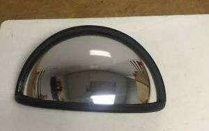 Convex Wide Cross View Blind Spot Mirror For School Buses And Semi trucks New