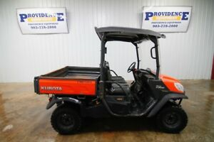 2015 Kubota Rtv x900 4wd Diesel Power Steering Full Windshield Grill Guard