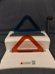 Unibinder 120 Thermal Binding System By Unibind W Manual