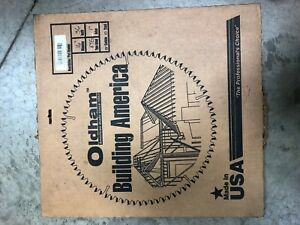 New Oldham 16 36t 36 Teeth Wood Rip Saw Blade 1 Arbor Carbide