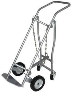 Milwaukee Hand Trucks 40767 Medical Cylinder Truck 1 Gas Cylinder With