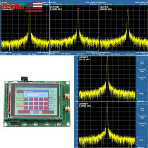 Rf Sweep Signal Source Generator Board 35m To 4 4g Stm32 Tft Touch Lcd Us