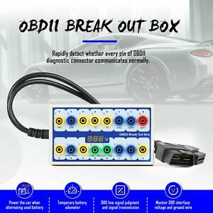 Vxscan Obd2 Protocol Detector Break Out Box Tester Tool Obdii Breakout Box Usa