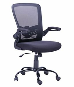 Mesh Chair Flip up Arm Drafting Table Chair Ergonomic Desk And Computer Chair