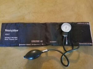 Welch Allyn Blood Pressure Cuff Latex Free Mint Condition