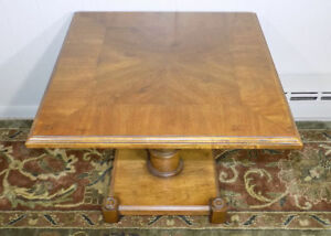 Drexel Heritage Pedestal Side End Table Spanish Revival Neoclassical 205 105