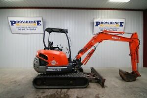Kubota Kx121 3 super Series Mini Compact Track Excavator With Angel Blade