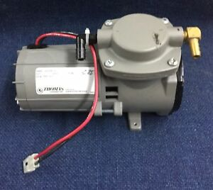 Thomas Commercial Compressor Or Vacuum Pump12 Volt Model 107cdc20v