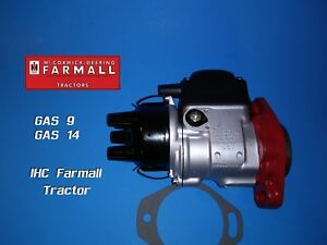 H4 Gas 9 magneto International Harvester Farmall Tractor Ihc W9 I9 U9 T9 W14