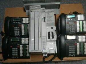 Nortel Norstar Cics 4x16 Rls 7 0 With Cid And Phones